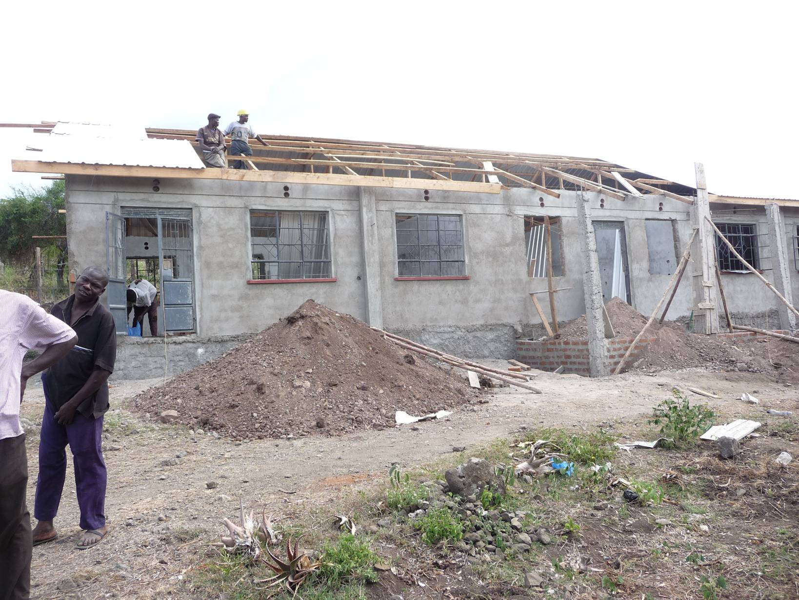 Classrooms Construction at Hope School